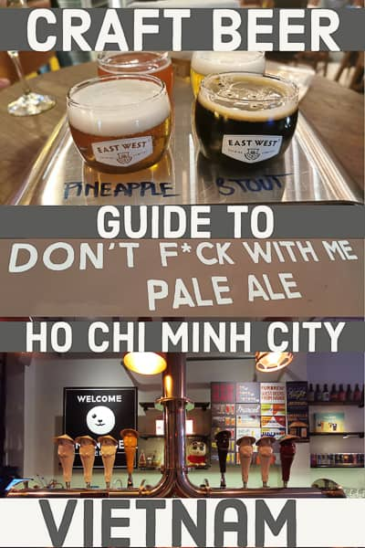 Ho Chi Minh City craft beer