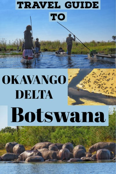 Travel Guide to Okavango Delta in Botswana