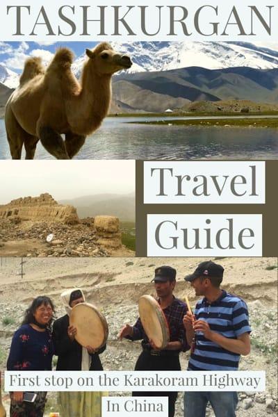 travel guide to TASHKURGAN in west china