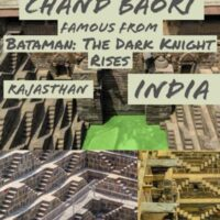 Travel Guide To Chand Baori Stepwell, famous from Batman The Dark Knight Rises. An easy day trip from Jaipur Rajasthan India.