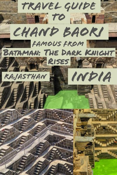 Travel Guide To Chand Baori The stepwell from Batman in india