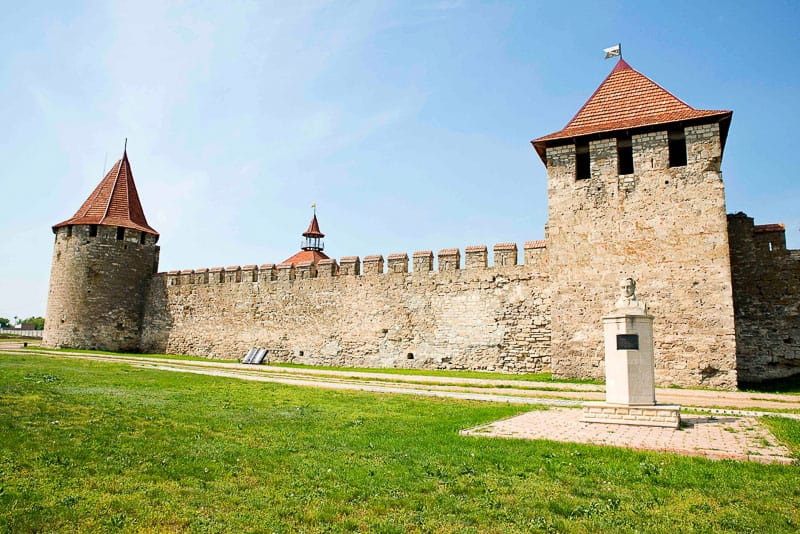 Bender Fortress in Transnistria Moldova