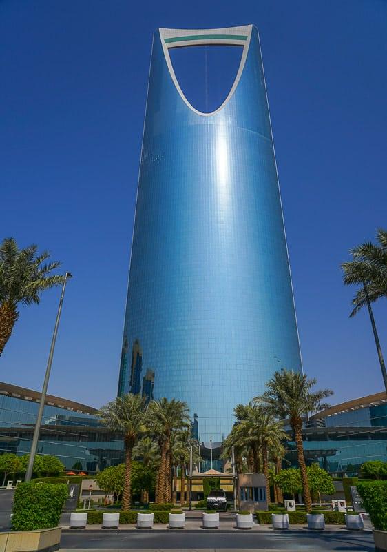 Kingdom Center in Saudi Arabia Riyadh