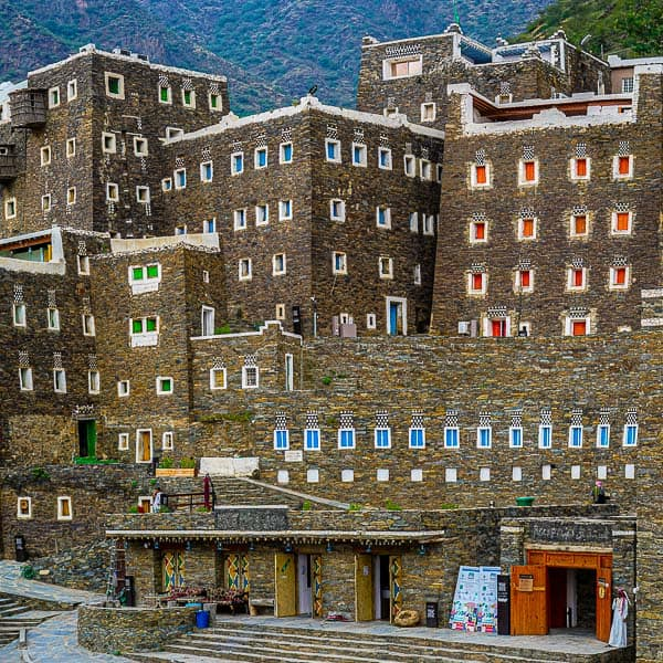 Easy To understand why Rijal Almaa is called the Gingerbread village