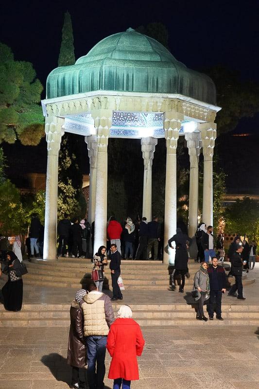 Хафез гробница Шираз Главные события в Ширазе, сердце персидской культуры. DSC05846