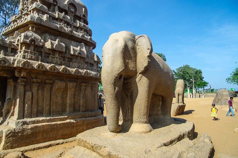 Mahabalipuram in india