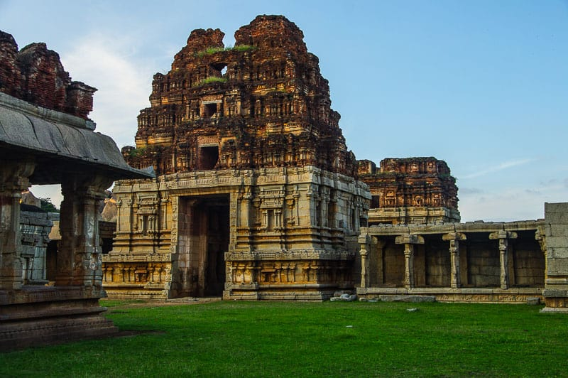 Temple in Hampi a backpacker paradise in India