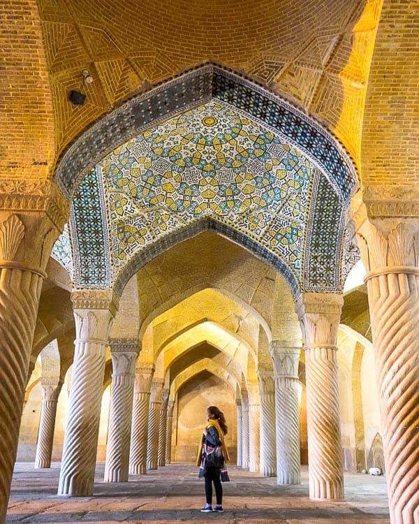 Вакильская мечеть Шираз Шираз Главные события в Ширазе, сердце персидской культуры. IMG 20181125 181017 443 2
