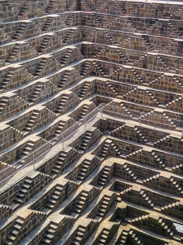 Chand Baori in india
