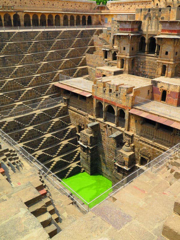 Chand Baori The stepwell from Batman in india