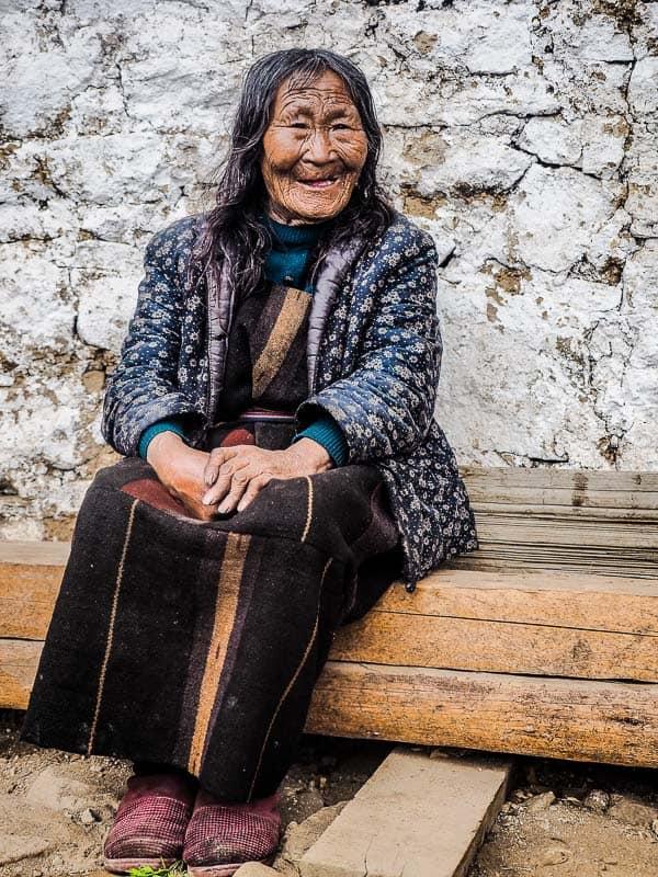 laya bhutan woman
