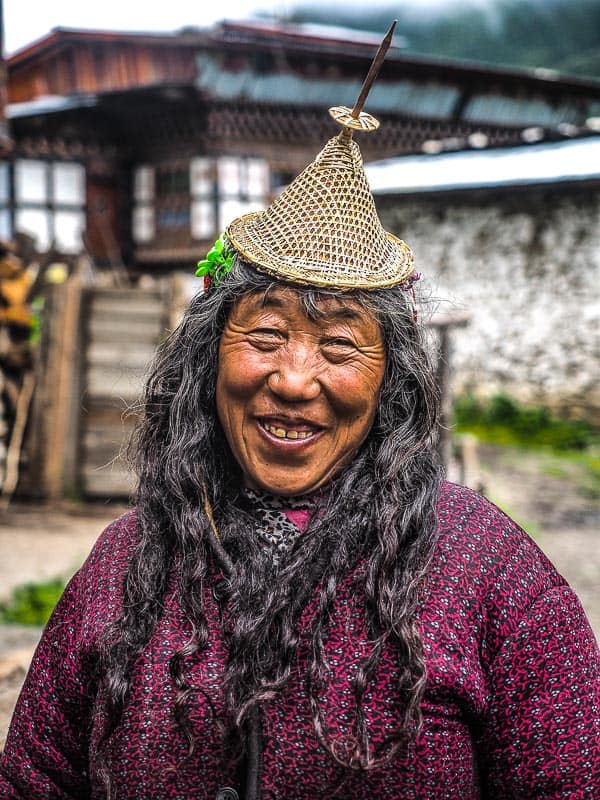 Laya smile northern bhutan