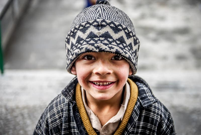 There´s always a smile in Kashmir