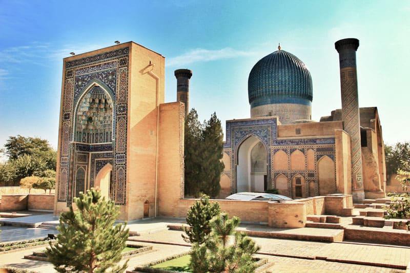 ГУР - Э-АМИРА ГРОБНИЦА в узбекистане Самарканд