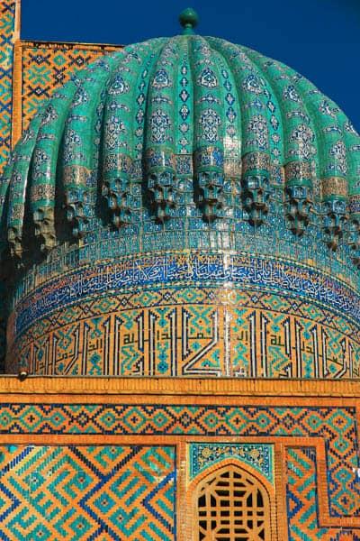 потрясающая крыша в узбекистане