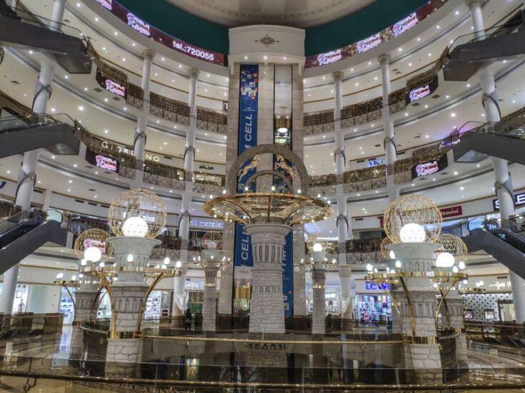 Ashgabat shopping mall turkmenistan