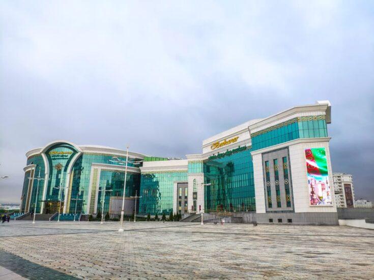 Yimpas Shopping Cente asghabat turkmenistan