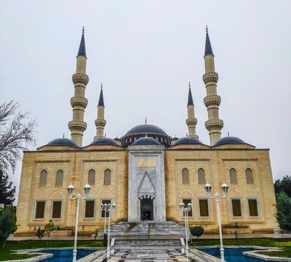 Ertuğrul Gazi Mosque asghabat turkmenistan