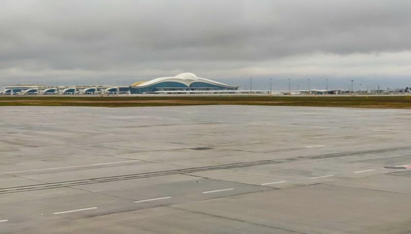 Аэропорт Ашхабада в Туркменистане