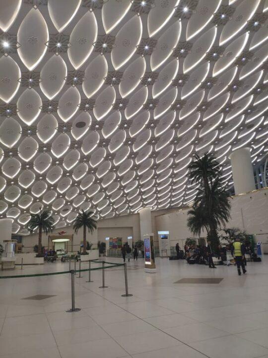 Inside Ashgabat International Airport Turkmenistan