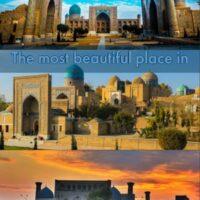 Samarkand a amazing city in Uzbekistan, central asia