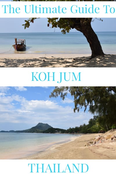 Ultimate guide to Koh Jum.Shaped like a diamond as it runs from the craggy karst coast of Krabi into the shimmering waters of the Andaman Sea, Koh Jum is considered a true untouched Thailand paradise still not discovered by the crowds.
