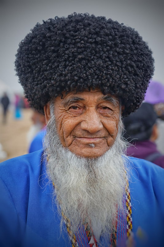 only old men are allowed to have a beard