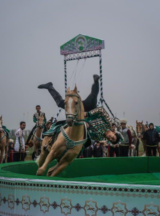 horse turkmenistan