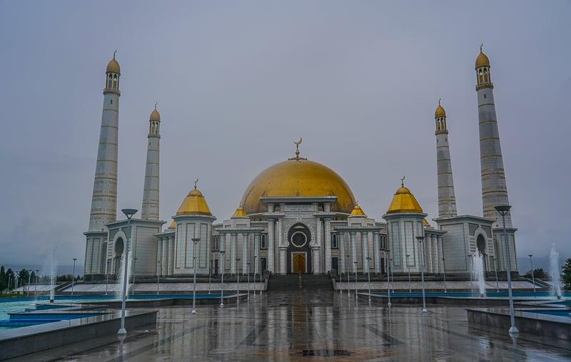 Мечеть Туркменбаши Рухи в Туркменистане
