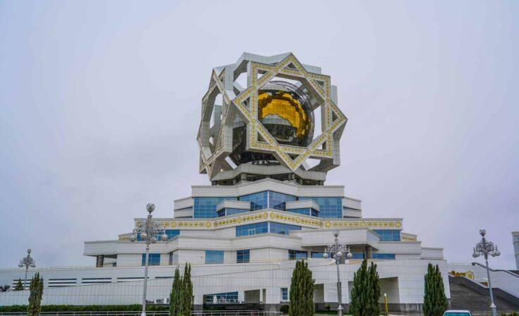 Wedding Palace in Ashgabat turkmenistan