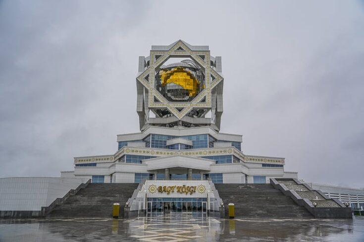 Ashgabat wedding Palace turkmenistan