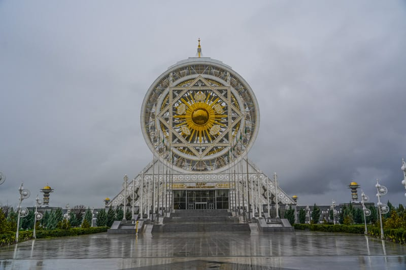 The world´s largest indoor Ferris wheel at 47,6m at the Alem entertainment centre in the south of Ashgabat in Turkmenistan