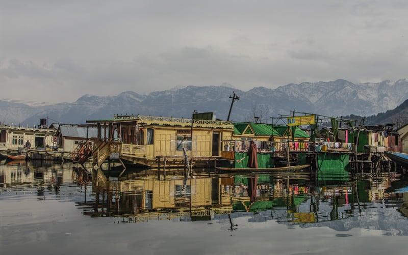 house boats dal lake