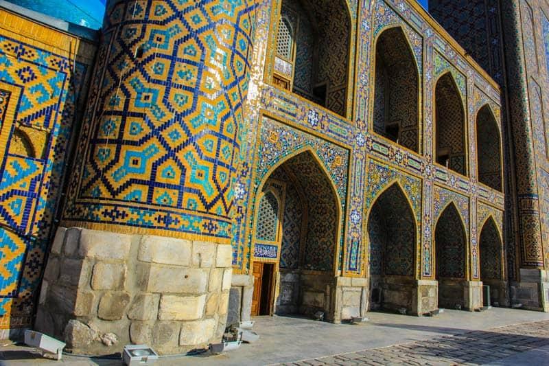 Регистан в Узбекистане