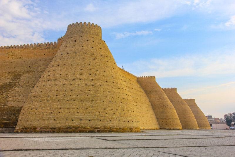 Bukhara citadel