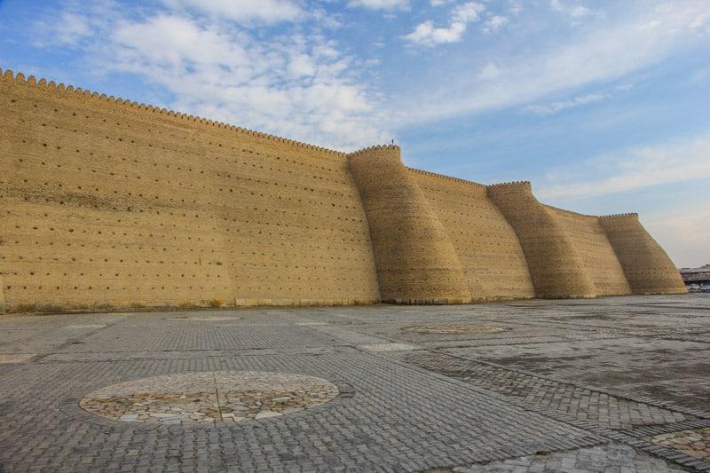 Bukhara wall citadel