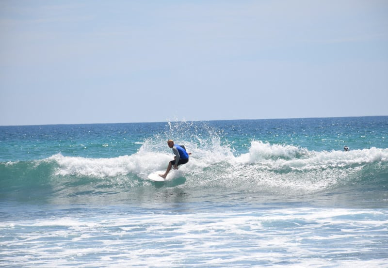 most tourist that comes to Weligama comes here for the surf in Sri Lanka