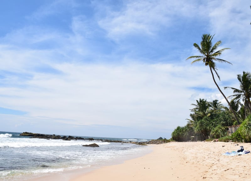 the beaches are pretty good in Weligama sri lanka guide