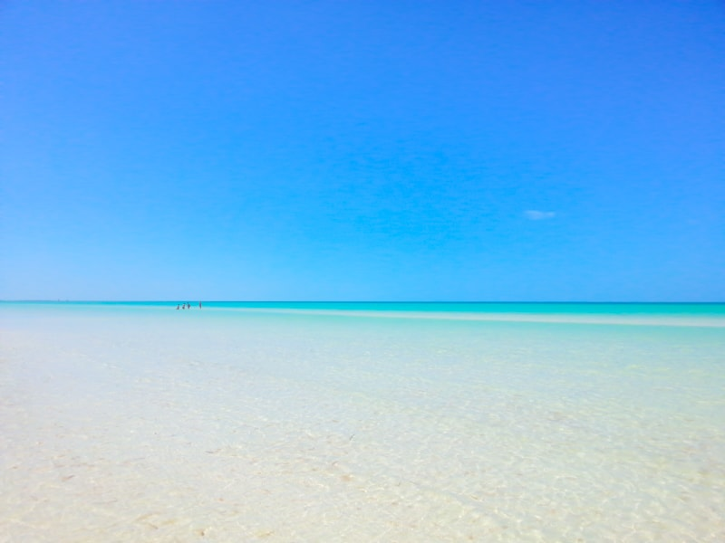 amazing water Isla Holbox