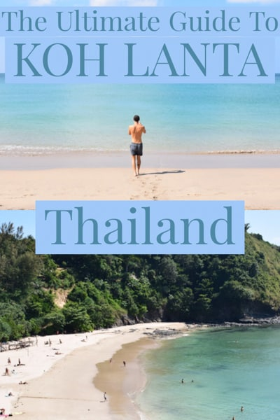 Travel guide to Koh Lanta one of the most relaxing beaches places in south Thailand.
