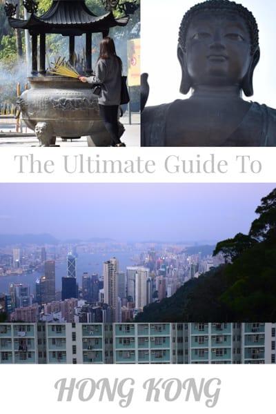 Travel guide to Hong Kong.