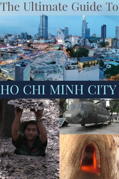 Ho Chi Minh is a sprawling, seething megacity.previously known as Saigon and the largest city in Vietnam