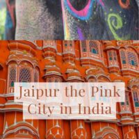 Guide to Jaipur the pink city in India in the state of Rajasthan