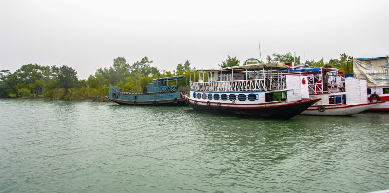 In Sunderbans National park will you travel around in small boats in india