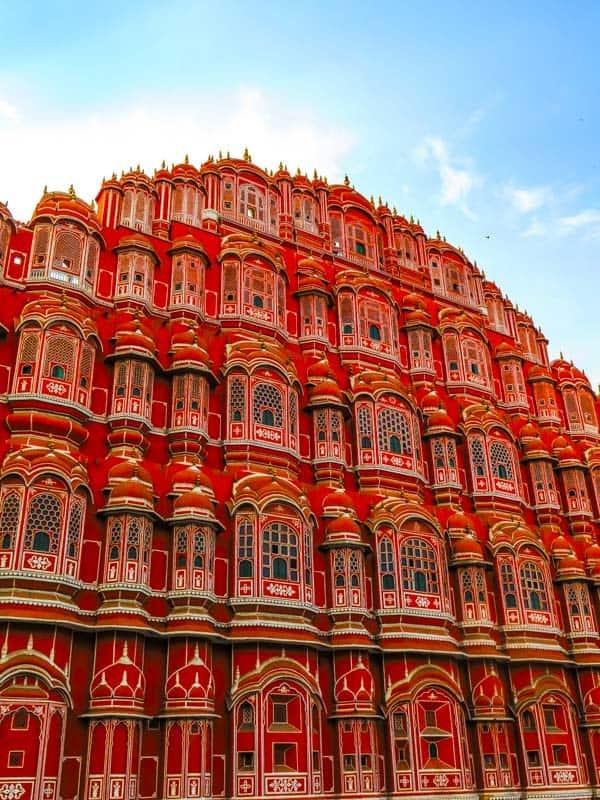 Hawa Mahal (Palace of Breeze) in jaipur Rajasthan