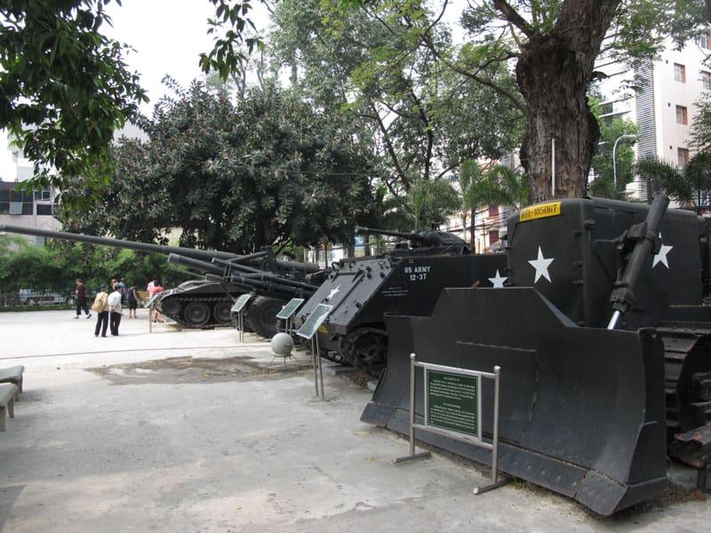 Saigon war museum vietnam