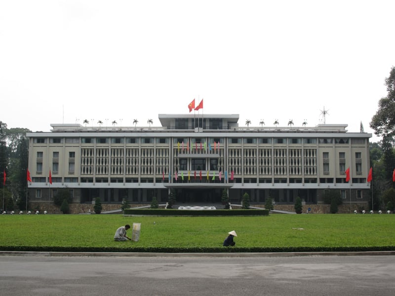 Reunification Palace in Ho Chi Minh City Vietnam
