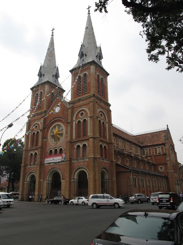 Notre Dame Cathedral in vietnam
