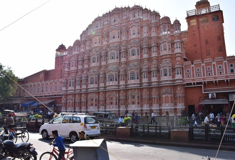 Hawa Mahal the landmark of Jaipur Rajasthan india