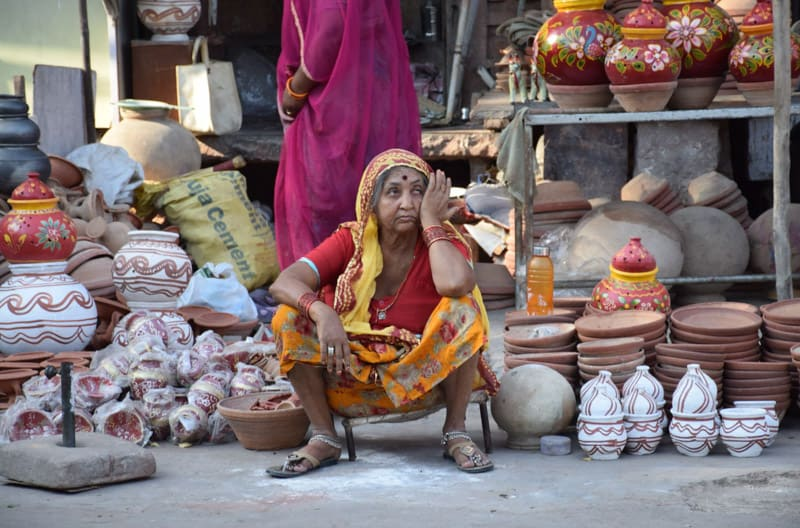even long day for the locals in india